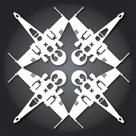 wars snowflake template wars snowflakes