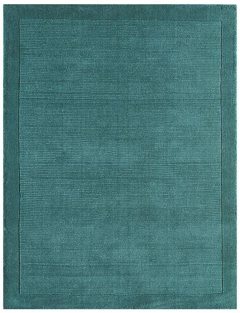 Plain Rugs by York Teal Rug Plain Teal Wool Rugs From Only 163 33