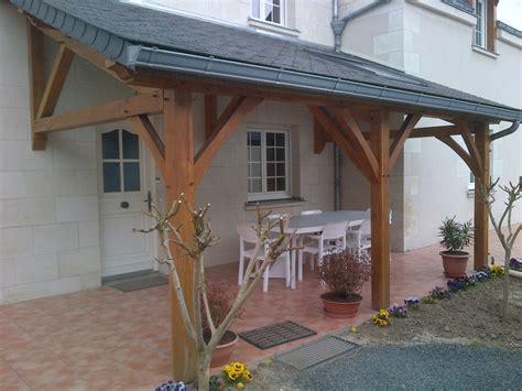 Marquise En Bois Avec Tuiles by Am 233 Nagement Int 233 Rieur Et Ext 233 Rieur Charpente Couverture