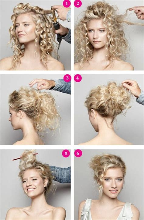 diy hairstyles for thick curly hair diy wedding hairstyle video a romantic updo updo my
