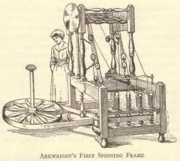 richard arkwright s first spinning frame
