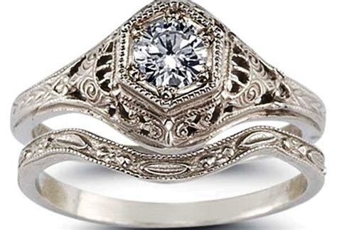 Antique Wedding Rings by The Best Of Antique Wedding Ring Sets Lovely Rings