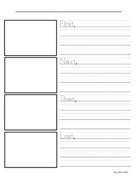 how to use a template sequence writing template by joann phan teachers pay