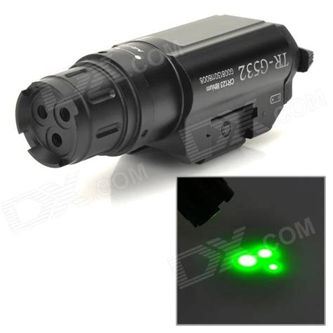Aim Laser three point green laser gun aiming sight w pressure switch guns third and ar 223