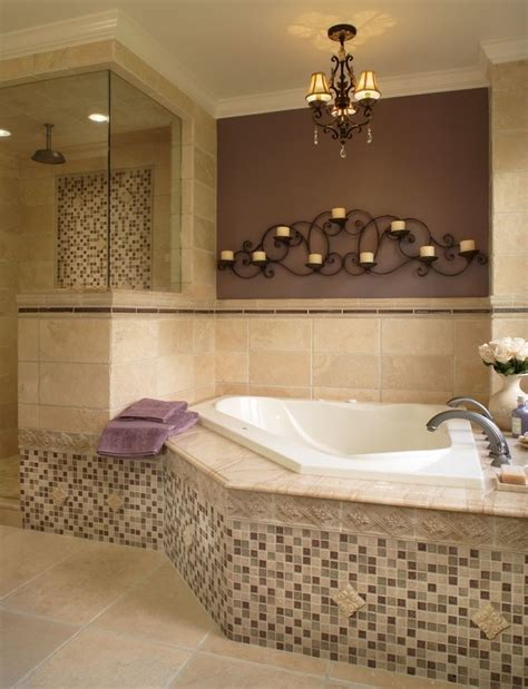corner tub bathroom ideas spectacular wall sconces for candles antique decorating
