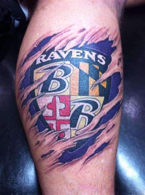 baltimore ravens tattoo tattoos pinterest