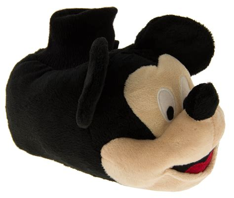 boys mickey mouse slippers boys official disney mickey mouse novelty