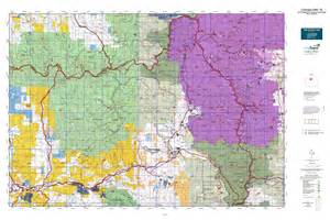 colorado land use map colorado gmu 18 map mytopo
