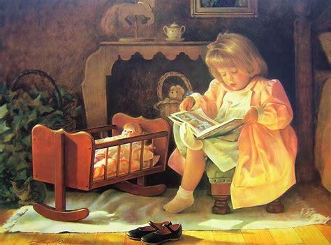 imagenes figurativas si realistas cuadros pinturas oleos retratos de ni 241 as obras de greg