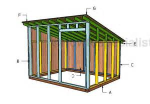 goat shed plans howtospecialist   build step