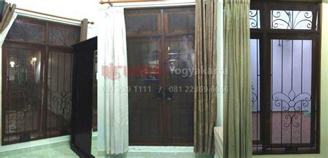 Ram Pintu Aluminium pemasangan ram nyamuk di condongcatur sleman yogyakarta