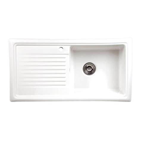 Kitchen Sinks And Taps Review Reginox Rl304cw Ceramic Single Bowl Sink Sinks Taps