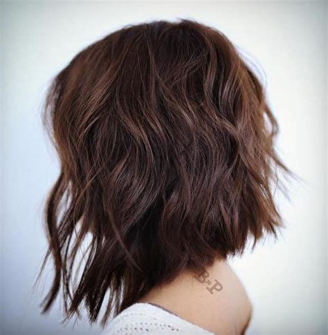 show me the back of lob haircuts 60 chocolate brown hair color ideas for brunettes
