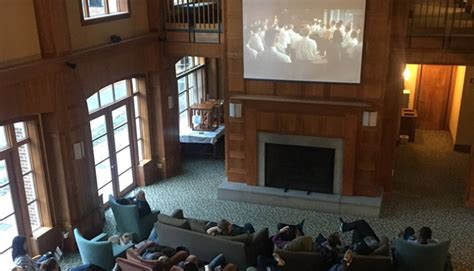 Dartmouth Mba Event by Tuck School Of Business Figures Screening At