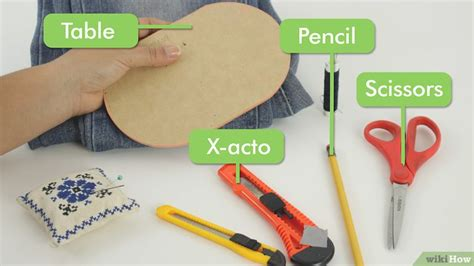 Pisau X Acto cara membuat jin robek robek