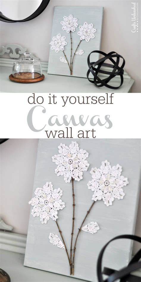 tutorial wall art diy canvas wall art tutorial crafts unleashed 3