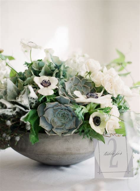 centerpieces with succulents white and green succulent centerpiece 2