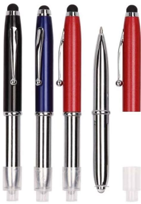 promotional pens with light and stylus promotional led light and stylus pen pens light up