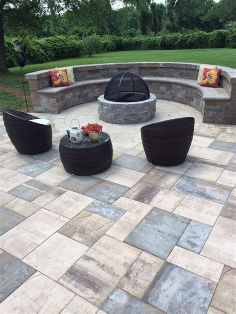 Artistic Pavers Updated This Outdoor Living Space With Paver Pit Kit
