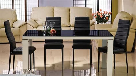 black glass dining table best dining table ideas glass top tables magnifying beautiful dining room design