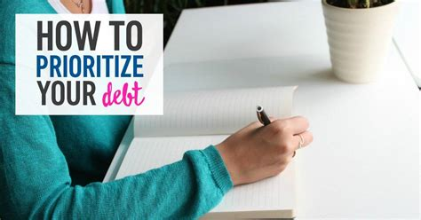 prioritize debt  reach  financial goals
