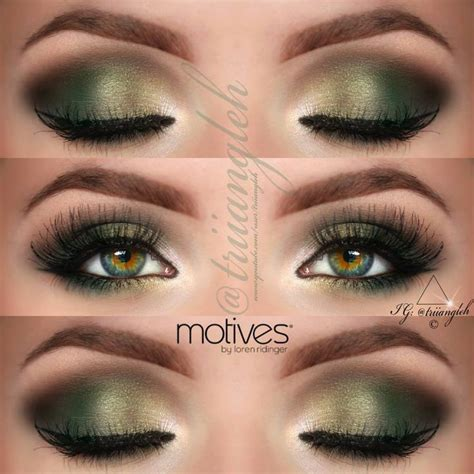 Simply Skin M Pallete 78 Eyeshadow best 25 green smokey eye ideas on