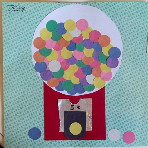 How To Make A Paper Gumball Machine - craft thursday 12 187 whatever