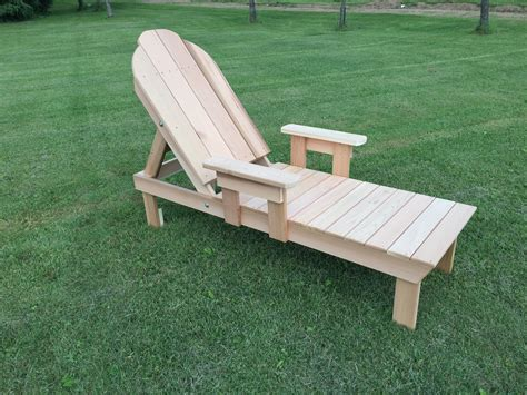 Patio Furniture Lounge Chair by Western Cedar Reclining Lawn Or Pool Chaise Lounge