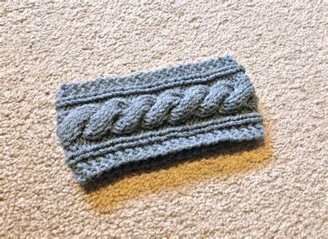 how to knit a cable headband cable knit headband pattern archives lil bit