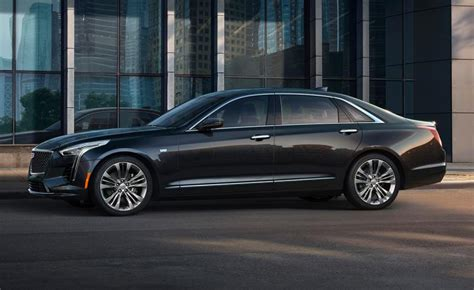 The Black Cadillacs by Look 2019 Cadillac Ct6 Ny Daily News