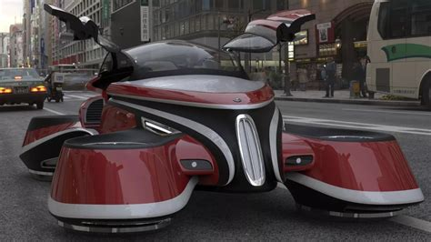 volante design lazzarini design imagines an isotta retro flying car