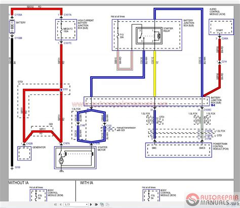 ford focus   wiring diagram auto repair manual