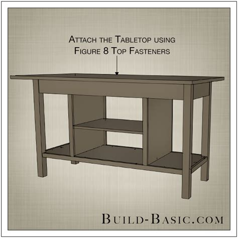 Build a DIY Open Shelf Kitchen Island ? Build Basic