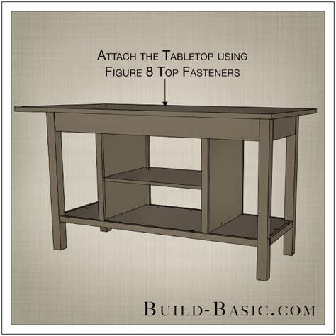 Build a DIY Open Shelf Kitchen Island ? Build Basic