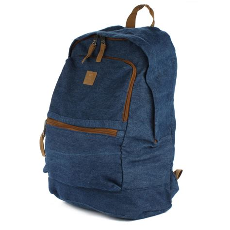 Denim Backpack rvca canteen denim backpack evo