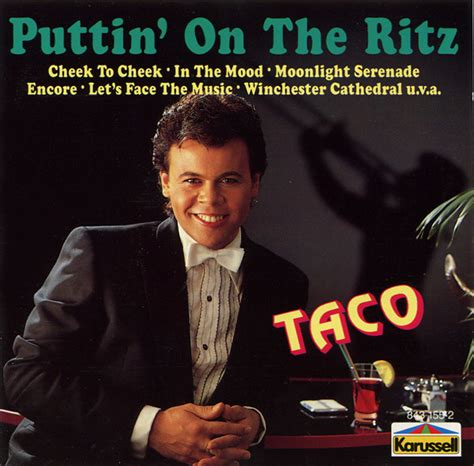 taco puttin on the ritz mp taco puttin on the ritz cd at discogs
