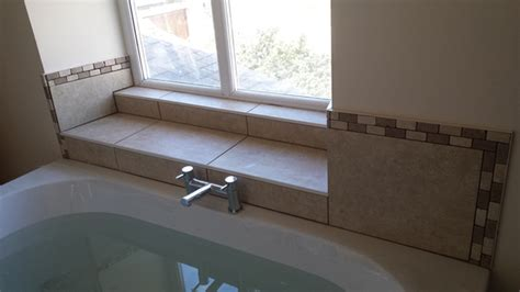 installing tile around a bathtub how to tile round a bath tile design ideas
