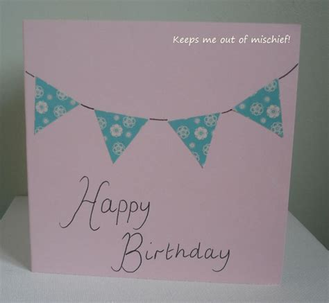 Simple Handmade Birthday Cards For Friends - 1000 images about friends b day on diy