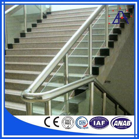 corrimano alluminio corrimano scale in alluminio anodizzato alluminio