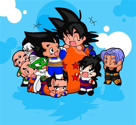 imagenes tiernas dragon ball z imagenes kawaii de dragon ball z im 225 genes taringa