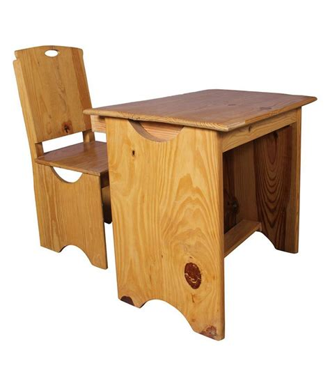 wood study table provo solid wood study table buy at best price in