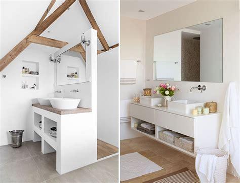 mobili bagno bianchi foto bagno bianco con specchi di valeria treste