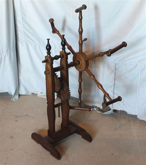 Bargain John's Antiques   Antique wood Yarn Winder
