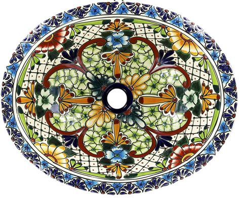 mexican bathroom sinks mexican tile mexican talavera sink acambaro