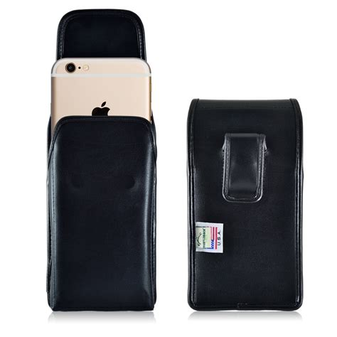 Iphone 6s Plus Leather Black 2 iphone 6s plus leather vertical holster black belt clip