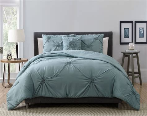 4 piece paige charcoal gray comforter set ebay