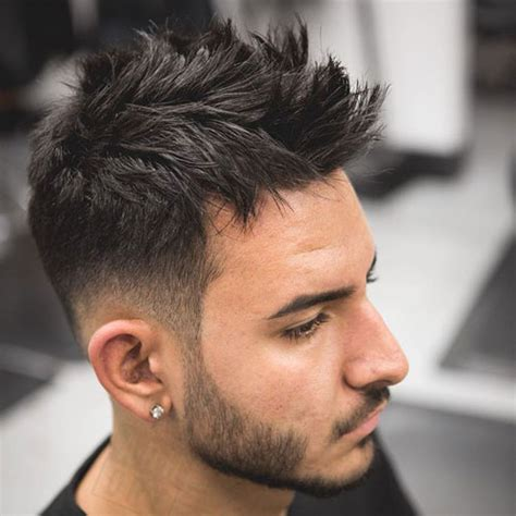 stylish spiked taper haircuts for men step by step 25 european men s hairstyles men s hairstyles haircuts