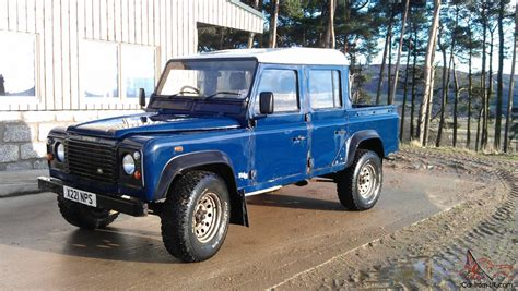 land rover blue 2000 land rover defender 110 td5 blue