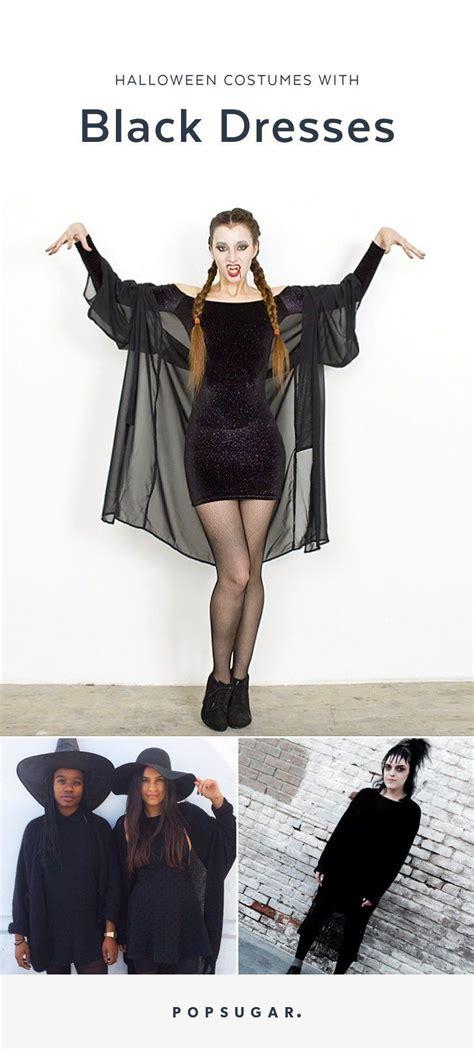 costumes   diy    black dress black