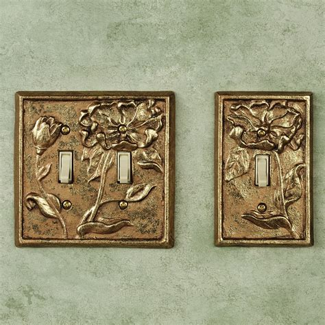 Decorative Switch Covers by Decorative Switch Wall Plates Baroque White Switchplates